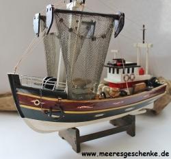 modell fischkutter segel