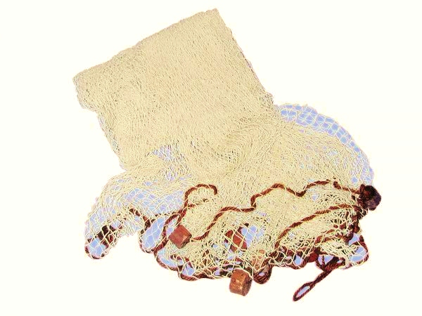 deko fischernetz beige natur mit deko bojen 6 25 m maritime deko online bei. Black Bedroom Furniture Sets. Home Design Ideas