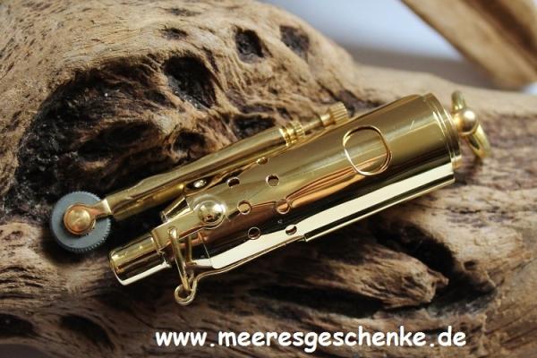 Sturmfeuerzeug aus Messing ca. 8cm
