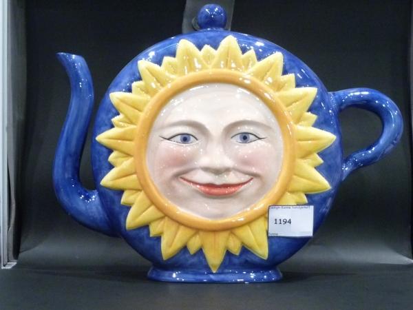 Design Teekanne Sonne