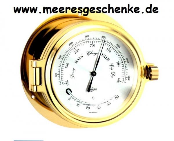 BARIGO Bullaugen Schiffsbarometer Admiral