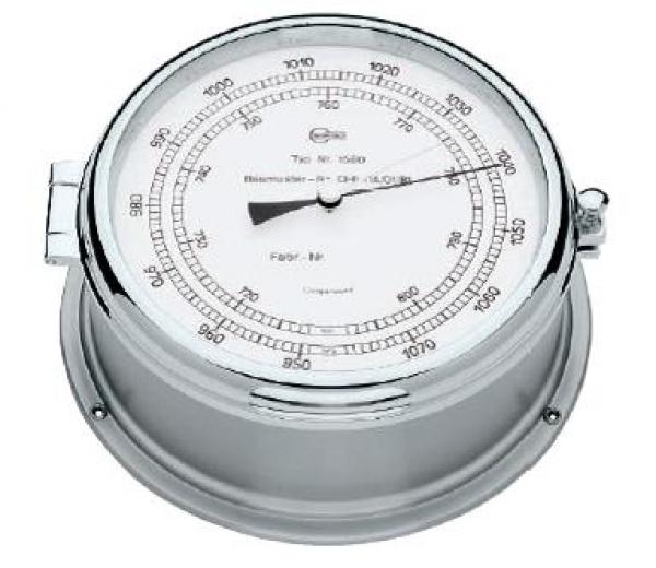 BARIGO Prüffähiges Bullaugen-Schiffsbarometer Professional