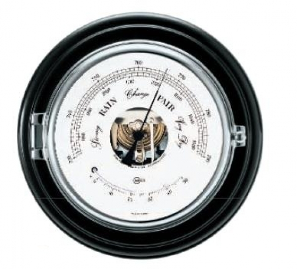 BARIGO Barometer mit Thermometer CAPTAIN