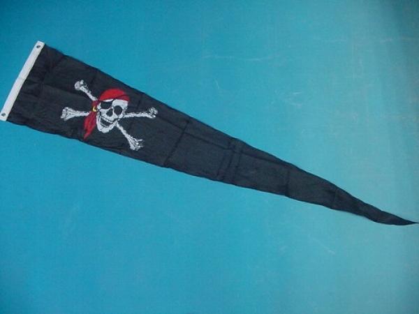 Wimpel-Flagge Pirat