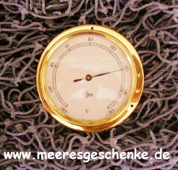 BARIGO Quarz Thermometer Tempo S Messing