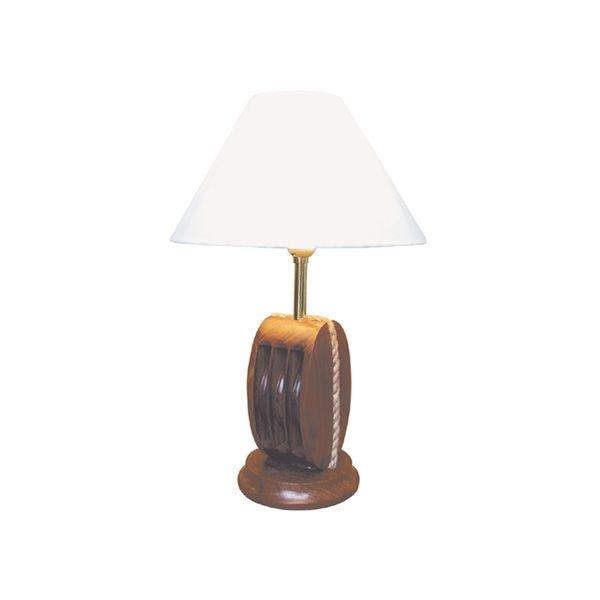 Schirmlampe Blockrolle ca. Ø: 25 cm x 39 cm Lampenschirm Ø 9 & 25 cm
