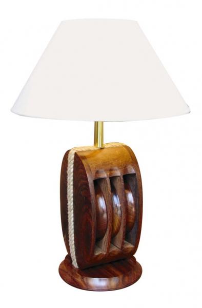 Schirmlampe Blockrolle ca. Ø: 36 cm x 40 cm Lampenschirm Ø 13 & 36 cm