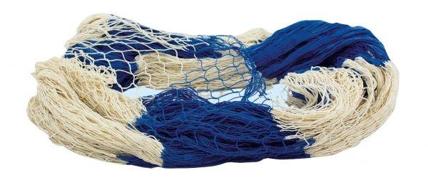 Deko Fischernetz 8 m² blau /beige ca. 200 x 400 cm