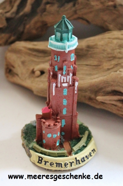 Leuchtturm Oberfeuer Bremerhaven ca. 12 cm