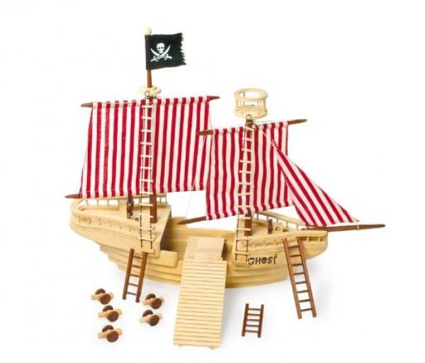 Piratenschiff ca. 83 x 49 x 70 cm