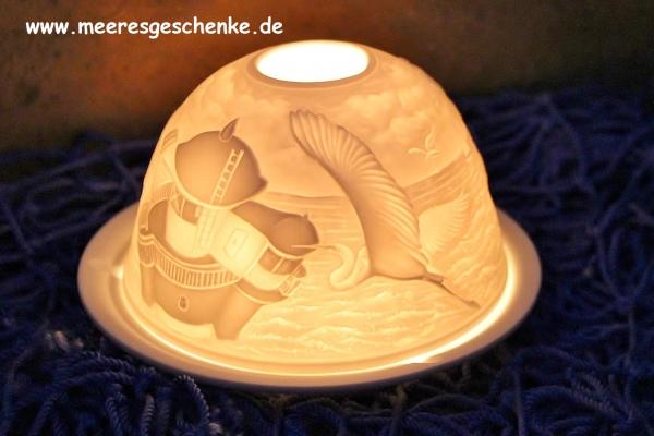 Teelichtkuppel Magic Ambient Light Motiv Roter Sand