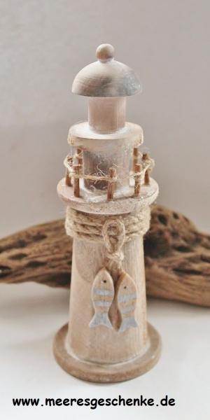 Deko-Leuchtturm ca. 22 cm x Ø: 8 cm