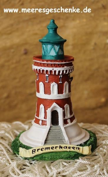 Deko-Leuchtturm Bremerhaven Pingelturm ca. 10,5 cm