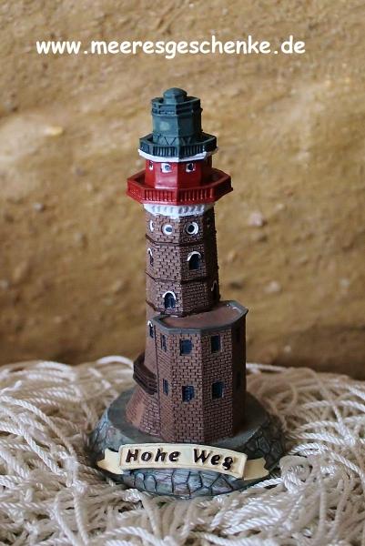 Deko Leuchtturm Hohe Weg 10 cm