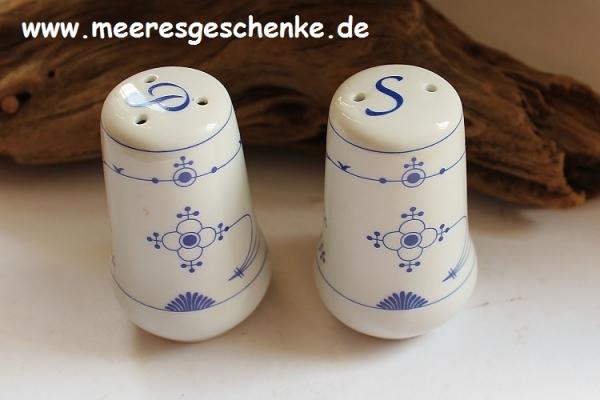 Indisch Blau Salz-und Pfefferstreuer