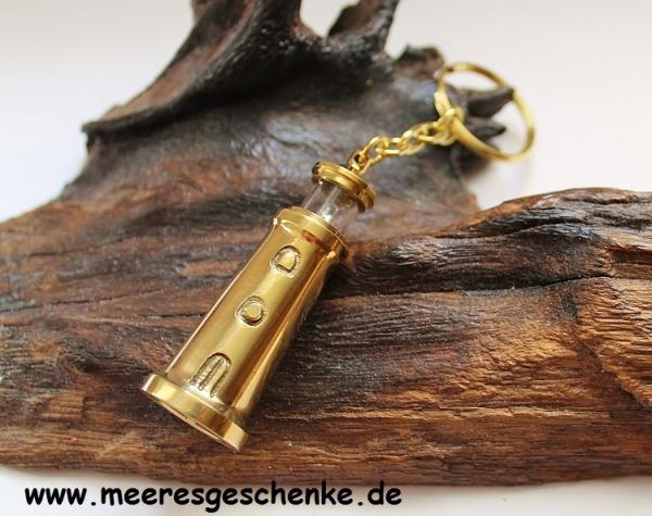Schlüsselanhänger Leuchtturm mit Licht ca 11 cm