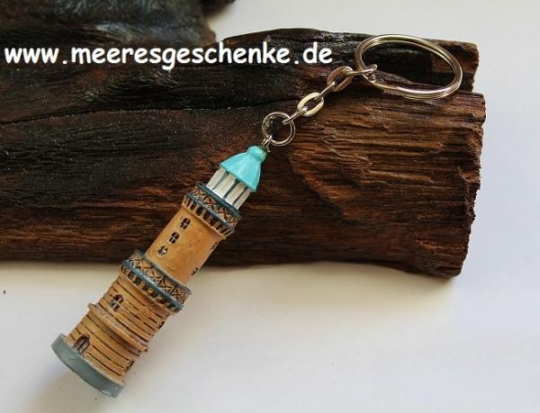 Schlüsselanhänger Leuchtturm Warnemünde ca. 12 cm