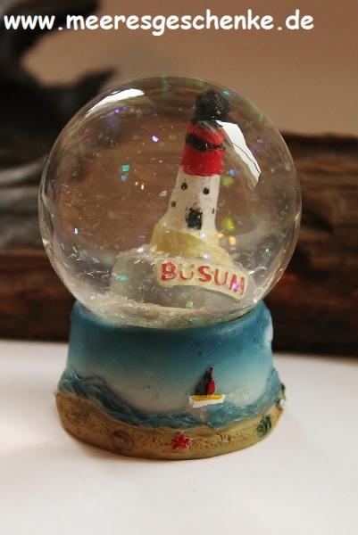 Schneekugel Leuchtturm Büsum ca. Ø 4,5 cm x 6 cm