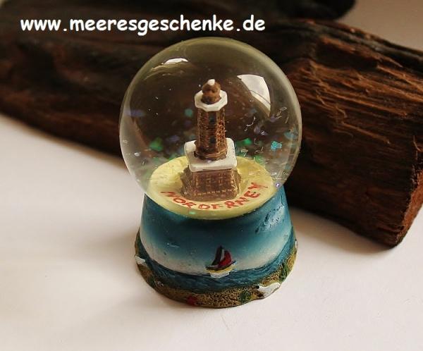 Schneekugel Leuchtturm Norderney ca. Ø 4,5 cm x 6 cm