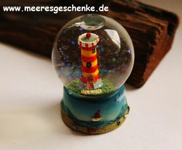 Schneekugel Leuchtturm Pilsum ca. Ø 4,5 cm x 6 cm