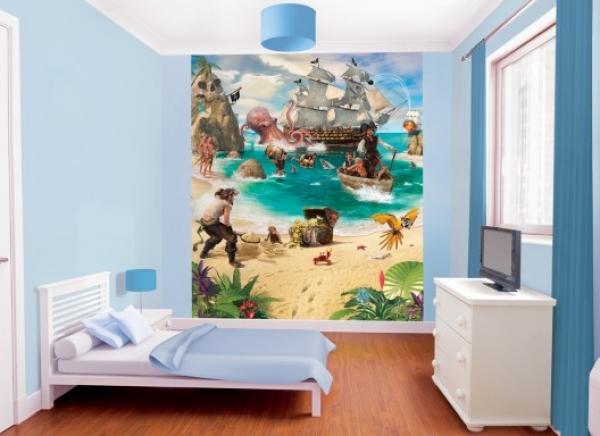"Walltastic Wandtattoo / Fototapete Piraten Abenteuer"""
