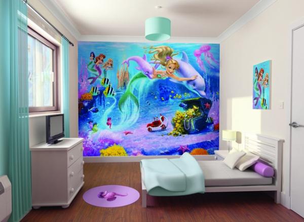 Walltastic Wandtattoo / Fototapete Mermaids