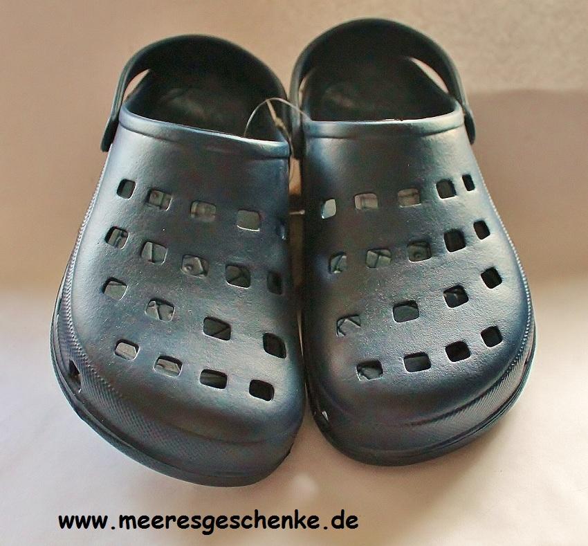 new concept 5f484 40968 Damen Clog Jana in dunkelblau Gr. 36-40 - - Maritime Deko ...
