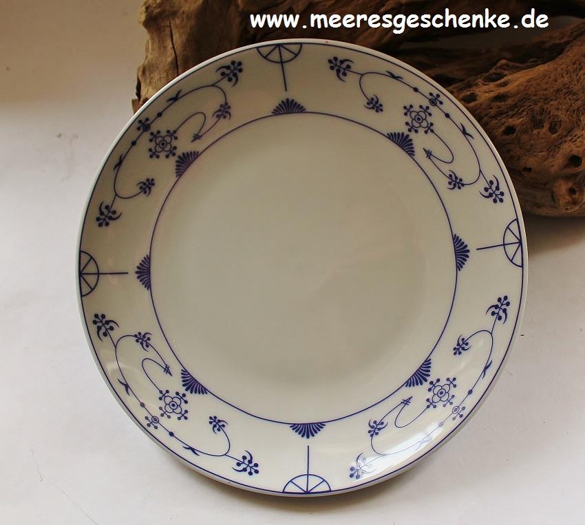 Indisch Blau Teller Ø ca. 18 cm - Maritime Deko online bei ...