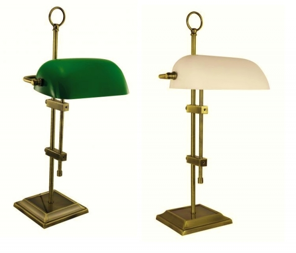 Lampen Online Wandlampe Im Fabrik Design Antik Messing: Schreibtischlampe Antik Messing
