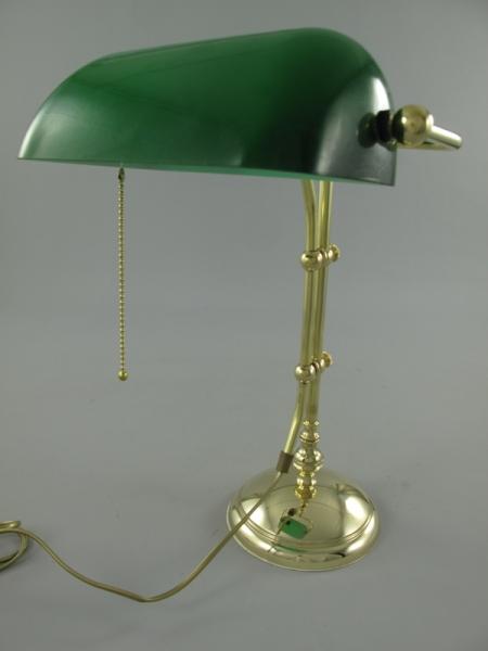 Banker-Lampe grün ca. 45 x 34 x 16 cm